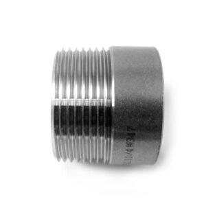 TRONCHETTO INOX AISI 304 FILETTATO GAS-0