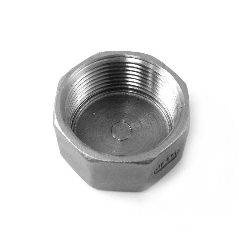 TAPPO FEMMINA INOX AISI 316 FILETTATO GAS-0