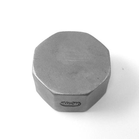 TAPPO FEMMINA INOX AISI 316 FILETTATO GAS-591