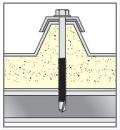Utilizzo Vite Bimetallo autoperforante INOX