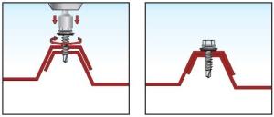 Sequenza di installazione vite per cuciture