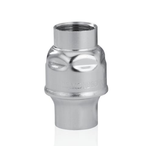 VALVOLA DI RITEGNO STAMPATA INOX AISI 304 FEM.FEM. FILETTATO GAS-0