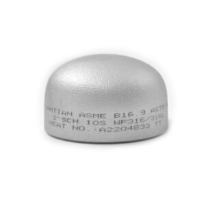 CAPS SENZA SALDATURA SCH 10S INOX AISI 304-0