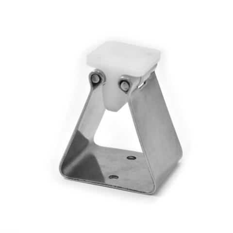 MOLLA FERMAPORTA INOX AISI 304 mm.40x35 H.60-2297