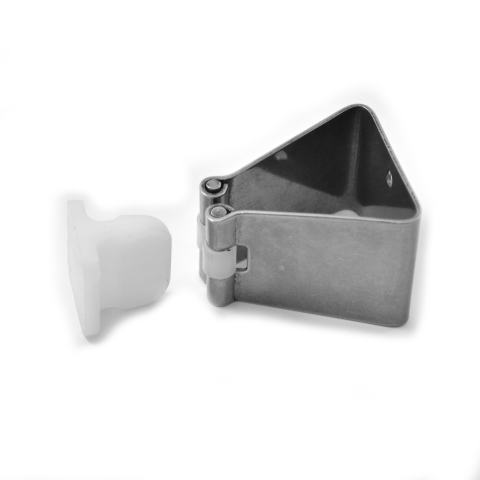 MOLLA FERMAPORTA INOX AISI 304 mm.40x35 H.60-0