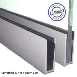 SIMPLY-GLASS SUPER LIGHT 0,5 kN/m. a Pavimento L.3,0 Mt.-0