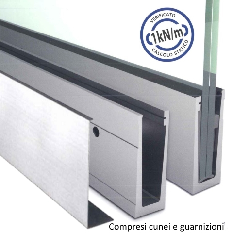 SIMPLY-GLASS LIGHT 1,0 kN/m. Laterale L.3,0 Mt.-0