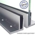 SIMPLY-GLASS BASIC 2,0 kN/m. Profilo a L L.3,0 Mt.-0