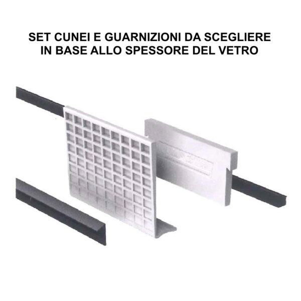 SIMPLY-GLASS BASIC 2,0 kN/m. Laterale L.3,0 Mt.-9416